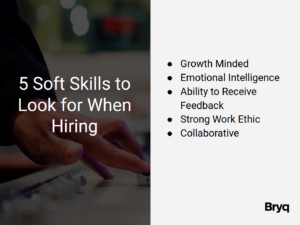 5 soft skills to look out for