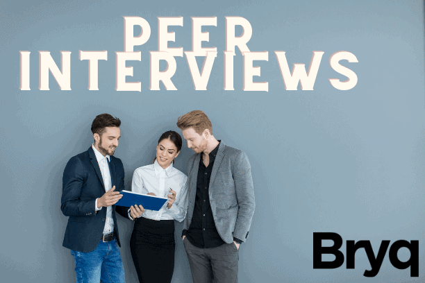 Peer interview questions to help hiring managers conduct peer interviews.
