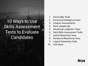 Skills Assessment Tests to Evaluate Candidates