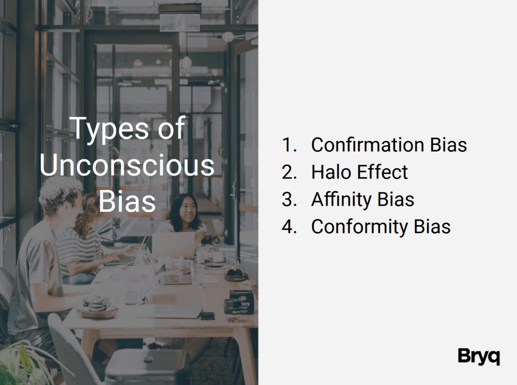 Types of Unconscious Bias