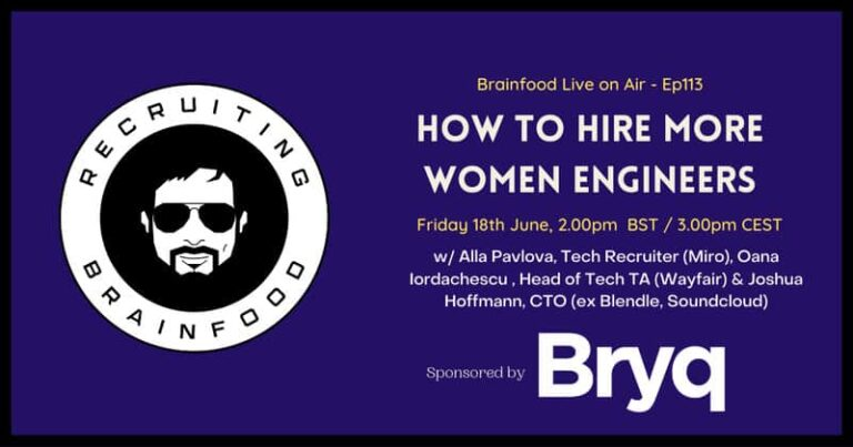 How to hire more women engineers