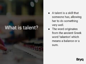 talent examples definition