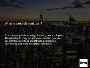 what is a recruitment plan - 2020