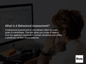 what is behavioural assessment