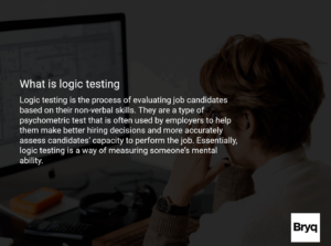 what is logic testing