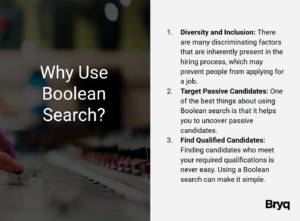 why use boolean search